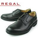 リーガル REGAL 靴 メンズ ビジネスシューズ 101W AH ブラック プレーントゥ 外羽根式
