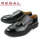 リーガルREGAL靴メンズビジネスシューズJU15AGブラックUチップ外羽根式紳士靴日本製2E本革特典B