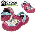 クロックス クリエイティブ クロッグ フローズン ラインド クロッグ crocs creative clog Frozen lined clog 201408 キッズサンダル セール