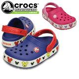 ����å��� ����å����饤�� �ߥå��� ����å� ���å� crocs crocslights Mickey clog kids 203072 ���å��������