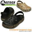 クロックス クロックバンド レオパード クロッグ crocs crocband leopard clog 203171 サンダル レディース メンズ