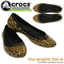 クロックス リナ グラフィック フラット ウィメン croc...