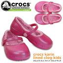 クロックス カリン ラインド クロッグ キッズ crocs karin lined clog kids 203512 キッズ サンダル シューズ セール