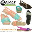 ショッピングフラット クロックス カラーブロック フラット ウィメン crocs ColorBlock flat w 200032 レディース サンダル