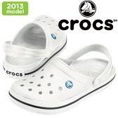 ★店頭展示品★クロックス クロックバンド crocs crocband 11016 ホワイト サンダル レディース メンズ