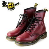 ドクターマーチン Dr.Martens 1460 8EYE BOOT CHERRY RED SMOOTH 10072600 8ホール レディース メンズ