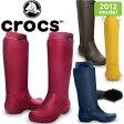 ★現品限り1,000円均一★ クロックス レインフロー ブーツ ウィメンズ crocs rain floe boot w 12424 レインブーツ 長靴