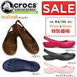 ショッピングCROCS クロックス マリンディ crocs malindi 10127 レディース サンダル フラットシューズ セール