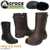 クロックス レニー 2.0 ブーツ crocs reny 2.0 boot 16010 レインブーツ ラバーブーツ 長靴 レディース メンズ
