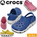 クロックス デュエット スポーツ クロッグ キッズ crocs duet sport clog kids 11992 通販