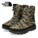 ザ ノースフェイス メンズ レディース ブーツ THE NORTH FACE Nuptse Bootie WP VI Logo NF51876 WC WC-51876 ヌプシブーティーウォータープルーフVIロゴ カモフラ セール