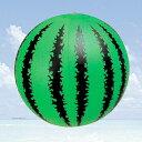 スイカ柄ビーチボール(35cm)【ご注文単位30個でお願いします】景品 ノベルティ おもちゃ 玩具 プール ビーチ ボール 浮き輪 うきわ レジャー ボート 海水浴
