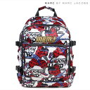 MARC BY MARC JACOBS BMX PRINTED SATIN BACKPACK マークバイマークジェイコブス バッグ リュック レディース バックパック M00040...
