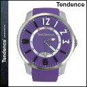TENDENCE テンデンス 腕時計 SLIM POP スリムポップ 47mm TG131002 ウォッチ 時計 パープル PURPLE 3H メンズ レディース [ あす楽対象外 ]