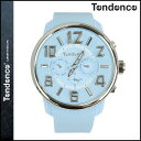 TENDENCE テンデンス 腕時計 GULLIVER47 ガリバー 50mm TG765002 ウォッチ 時計 ライトブルー G47 MULTIFUNCTION LIGHT BLUE メンズ レディース [ あす楽対象外 ]