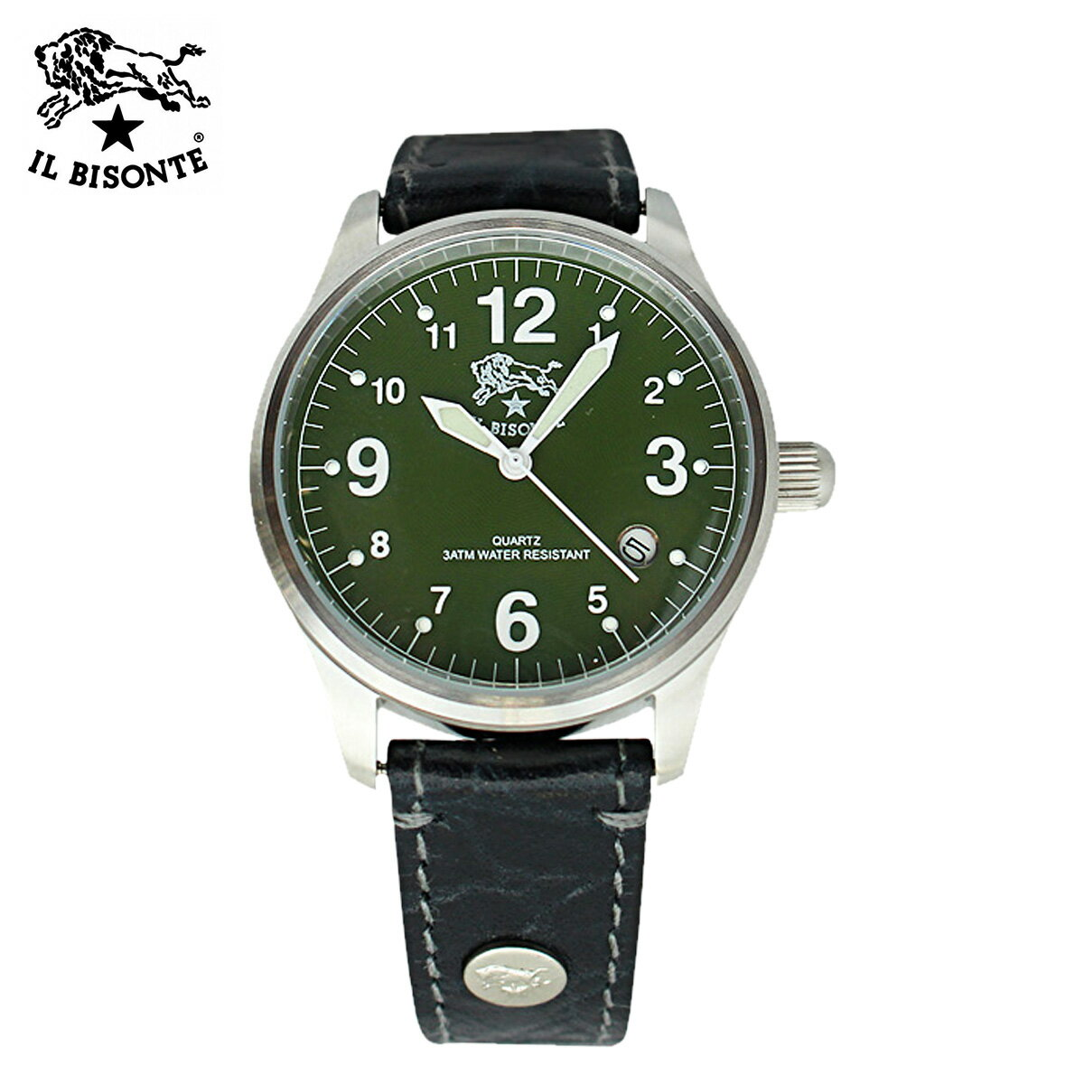 IL BISONTE イルビゾンテ 腕時計 ウォッチ  H0502-VS-542N ブラック WATCH  メンズ レディース [ 対象外 ]  送料無料  IL BISONTE イルビゾンテ 時計 ウォッチ 正規 通販