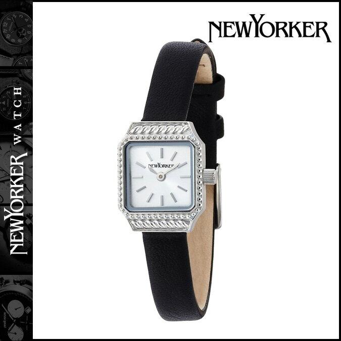 NEWYORKER ニューヨーカー 腕時計  スクエアエイジ 16mm NY009-03 ウォッチ 時計 シルバー SQUARE AGE  レディース [ 対象外 ]  送料無料  NEWYORKER ニューヨーカー 腕時計 正規 通販