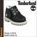 【訳あり】 Timberland ティンバーランド ベビー キッズ ブーツ ブーツ WATERPROOF CHUKKA チャッカ ブーツ ウォータープルーフ 11874 ブラック