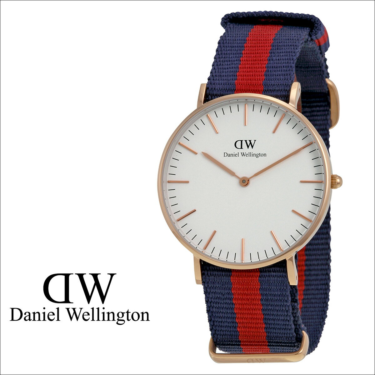 Daniel Wellington ダニエルウェリントン 36mm 腕時計 レディース  CLASSIC OXFORD LADY  ローズゴールド NATO  送料無料  Daniel Wellington ダニエルウェリントン 腕時計 36ミリ 正規  通販