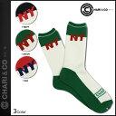 CHARI&CO NYC チャリアンドコー ハイソックス 靴下 レッグウェア 3カラー HI SOCKS SCREW NY メンズ あす楽