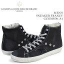 ゴールデングース Golden Goose スニーカー メンズ フランシー SNEAKERS FRANCY イタリア製 GCOMS591 A1 靴 ブラック