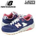 new balance ニューバランス 580 WRT580 RH スニーカー レディース WRT580RH Bワイズ 靴 ネイビー