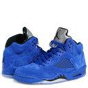 NIKE AIR JORDAN 5 RETRO BLUE S...