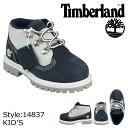 Timberland ティンバーランド ベイビー キッズ CAMPSITE TD チャッカ ブーツ キャンプサイト 14837 ネイビー 【9000足】