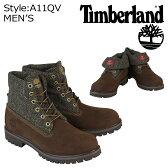 Timberland ティンバーランド ICON ROLL-TOP HARRIS TWEED FABRIC ブーツ アイコン ロールトップ ハリスツイード A11QV ブラウン メンズ