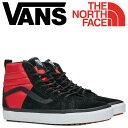 VANS SK-HI 46 MTE DX スニーカー メンズ ノースフェイス バンズ ヴァンズ スケートハイ THE NORTH FACE VN0A3DQ5QWS ブラック 靴 [11/16 新入荷]