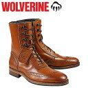 WOLVERINE ウルヴァリン 1000マイル ブーツ WINCHESTER 1000 MILE BROGUE BOOT Dワイズ W06491 タン ワークブーツ メンズ