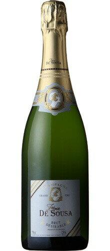 ■ゾエミ ド スーザ ブリュット デジラブル グラン クリュ ブラン ド ブラン NV(750ml)泡 Zoemie Brut Brut Desirable Grand Cru Blanc de Blancs【出荷:7〜10日後】
