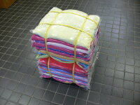 カラー(色)メリヤスステッチウエス(新品生地縫い目有り)2kg
