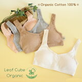 在以有机棉内衣Leaf Cube Organic 有机棉100%皮肤敏感的一方也...[オーガニックコットン下着 Leaf Cube Organic オーガニックコットン100%でお肌が敏感な方にも… エチュールブラ ノンワイヤースポーツブラジ