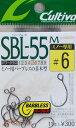 オーナーシングルフックSBL-55M(No.11611)6号