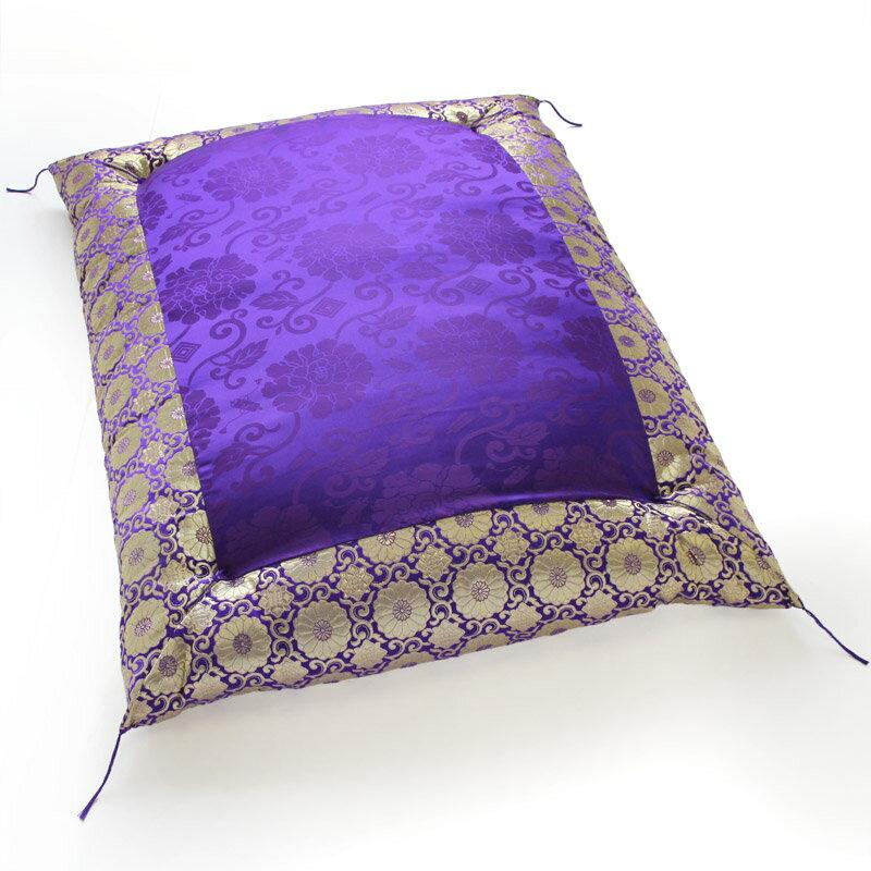 紫唐草 金襴唐草玉菊 座褥