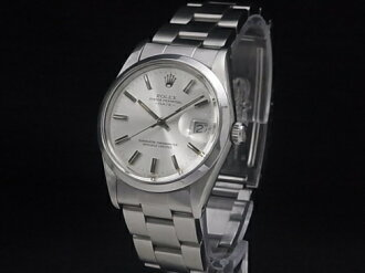 Rolex - ROLEX - オイスターパーペチュアルデイト Ref.15000 silver letter machine SS/SS automatic men's Marathon02P02feb13