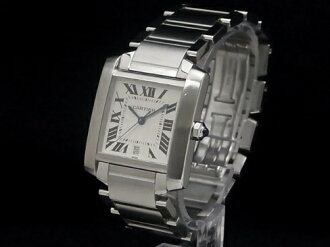 Have been maintained Cartier - CARTIER - タンクフランセーズ LM W51002Q3 SS/SS; men