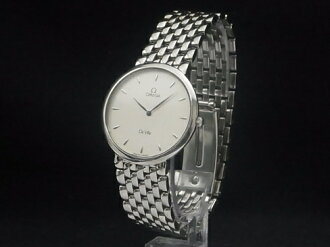 Omega - OMEGA-may cry round SS/SS 33 mm quartz mens