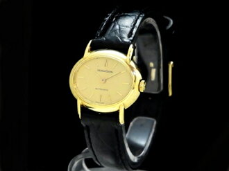 Jaeger-LeCoultre - JAEGER LE COULTRE - oval automatic winding 18 kYG / leather women's 02P18Dec12