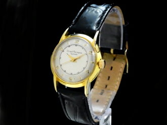 Girard-Perregaux - GIRARD PERREGAUX - ジャイロマ TIC Sakura shimmachi white face Arabian YGP, SS / leather auto winding boys
