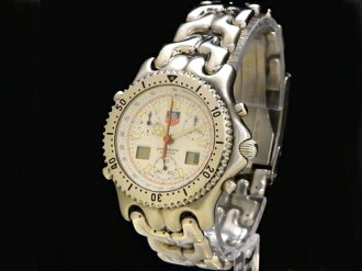 Tag Heuer - TAG HEUER - セナモデル white face scarcity! Men's quartz SS/SS Sakura-shinmachi