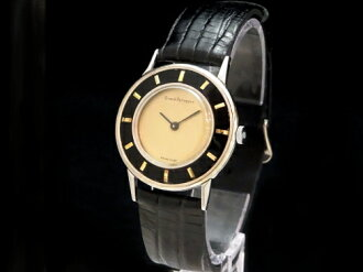 ジラールペルゴ - GIRARD PERREGAUX - rare Fe two-tone color! Round rolling by hand SS/ leather men Sakurashimmachi