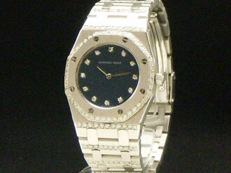 Audemars Piguet - AUDEMARS PIGUET - Royal Oak 18 KWG genuine diamond ladies (secondhand)
