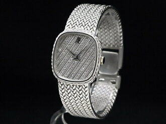 Audemars Piguet - AUDEMARS PIGUET - oval 18KWG / diamond quartz ladies