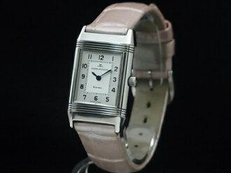 260 8 08 ジャガールクルト - JAEGER LE COULTRE - レベルソクラシック SS case / leather quartz Lady's