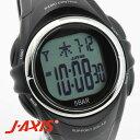 J-AXIS メンズ 腕時計 サンフレイム SRC01-BK