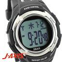 J-AXIS メンズ 腕時計 サンフレイム SRC03-BK