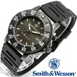 [正規品] スミス&ウェッソン Smith & Wesson ミリタリー腕時計 SWAT WATCH BLACK SWW-45 [あす楽] [ラッピング無料] [送料無料]