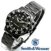 楽天スーパーSALE/スーパー/SALE [正規品] スミス&ウェッソン Smith & Wesson ミリタリー腕時計 SWAT WATCH BLACK SWW-45M [あす楽] [ラッピング無料] [送料無料]